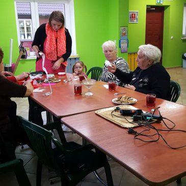 Realizacja zajęć w ramach projektu Aktywni seniorzy